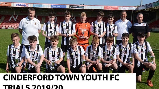 Cinderford Town Trials - Cinderford Town Youth FCCinderford Town